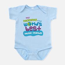 Music Teacher Gift for Kids Onesie