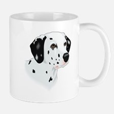 Dalmatian head Mugs