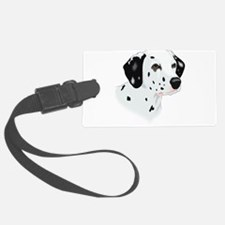 Dalmatian head Luggage Tag