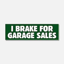 I Brake For Garage Sales Car Magnet 10 x 3