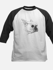 Pug dog head Baseball Jersey