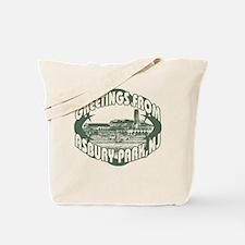 Asbury Park Green Tote Bag