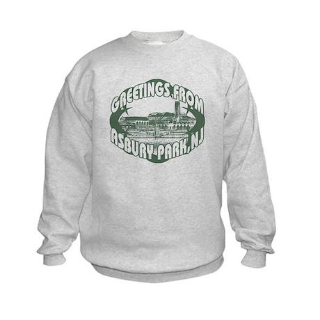 Asbury Park Green Kids Sweatshirt