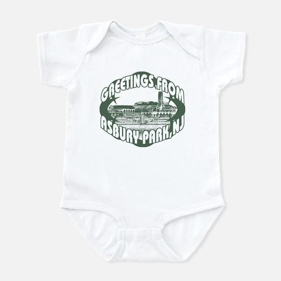 Asbury Park Green Infant Bodysuit