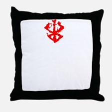 Unique Anime face Throw Pillow