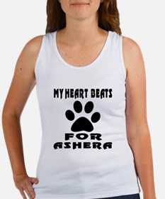 My Heart Beats For Ashera Cat Women's Tank Top