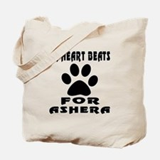 My Heart Beats For Ashera Cat Tote Bag