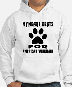 My Heart Beats For American Wire Hoodie