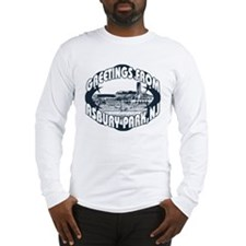 Asbury Park Blue Long Sleeve T-Shirt