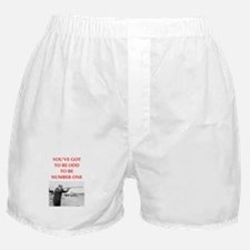 trap shooting joke Boxer Shorts