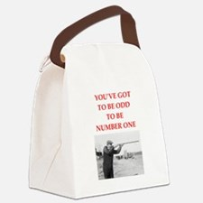 trap shooting joke Canvas Lunch Bag