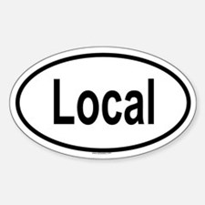 LOCAL Oval Decal