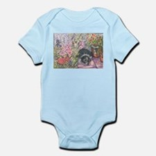 Just another flower in the ga Infant Bodysuit