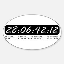 28:06:42:12 Sticker (Oval)