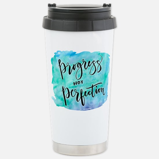 Progress not Perfection Travel Mug
