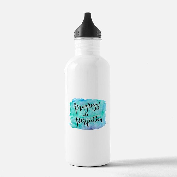 Progress not Perfection Water Bottle