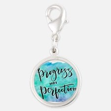 Progress not Perfection Charms