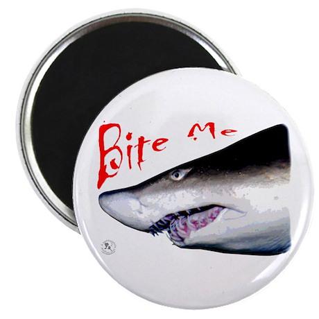 """Shark: Bite Me 2.25"""" Magnet (10 pack)"""