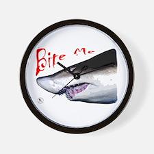Shark: Bite Me Wall Clock