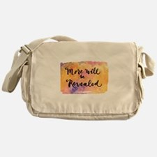 More Will be Revealed Messenger Bag