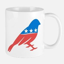 Progressive Sparrow Mugs
