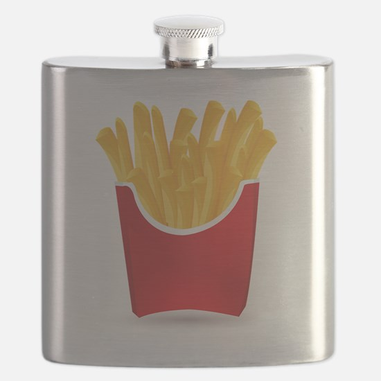 Cute French fries Flask