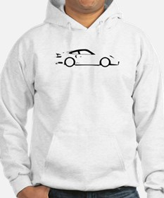 Fast Black and White Car Hoodie