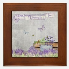 Summer-Provence - Love Framed Tile