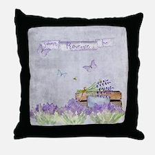 Summer-Provence - Love Throw Pillow