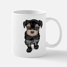Cute Yorkipoo dog Mugs