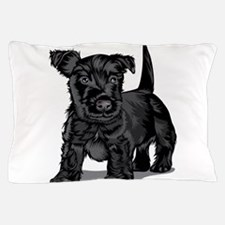 Cute Schnoodle dog Pillow Case