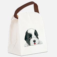 Bolognese dog Canvas Lunch Bag