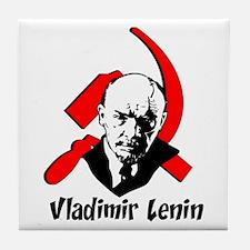 Vladimir Lenin Tile Coaster
