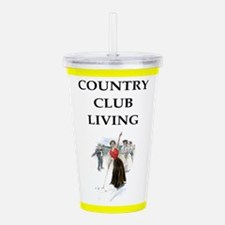 golf joke Acrylic Double-wall Tumbler