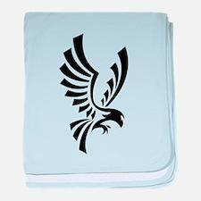 Eagle symbol baby blanket
