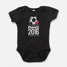 France 2016 Soccer Baby Bodysuit