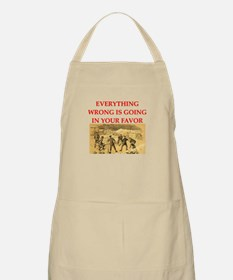 curling joke Apron