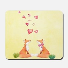 Fox LOve Mousepad