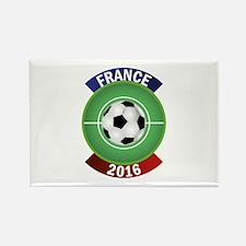 France 2016 Soccer Rectangle Magnet