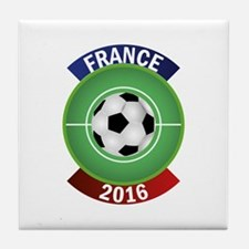 France 2016 Soccer Tile Coaster