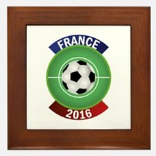 France 2016 Soccer Framed Tile