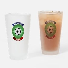 France 2016 Soccer Drinking Glass