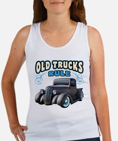 Old Trucks Rule Tank Top