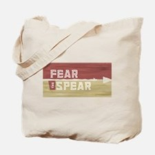 Fear the Spear Tote Bag
