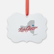 Cute Lake george Ornament