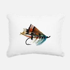 fly 2 Rectangular Canvas Pillow