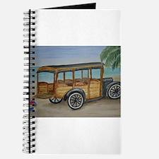OLDTIME WOODIE BEACH WAGON Journal