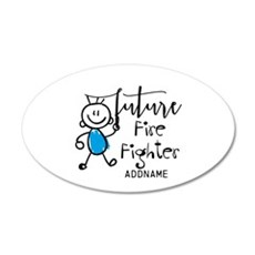 Future Fire Fighter Personal Wall Decal