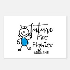 Future Fire Fighter Perso Postcards (Package of 8)