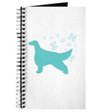 Irish Setter Snowflake Journal
